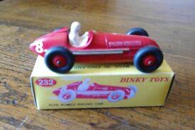 DINKY RACING CAR #232