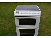 Tricity Bendix Electric Cooker-Ceramic Hob-Double Oven-60'cm Wide