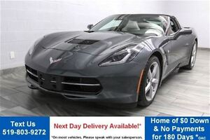 2014 Chevrolet Corvette Stingray 7-SPEED COUPE w/ TARGA TOP! NAV
