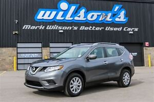 2015 Nissan Rogue S AWD! $64/WK, 5.49% ZERO DOWN! REAR CAMERA! B