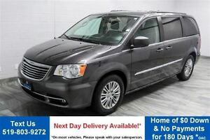 2015 Chrysler Town & Country TOURING LEATHER! QUAD CAPTAIN CHAIR