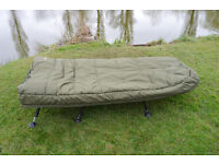 New carp fishing bedchair sleeping sleep system with 2layer sleeping bags waterproof carp tackle