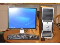 Dell Precision T3500 Gaming Desktop Computer Complete System