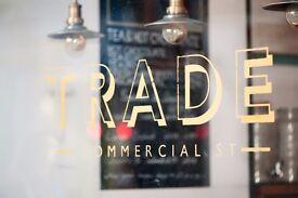 Barista/Server for our Award Winning Café in Spitalfields, London E1 FULL OR PART TIME