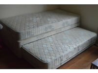 Single Bed With Divan Bed