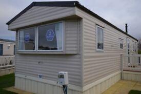 2 Bedroom Caravan with Decking For Sale Birchington Kent, Parking & Large corner pitch with views