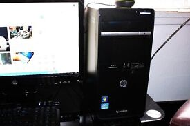 HP DESKTOP, i3 QUAD CORE, 4GB RAM, 1TB HARD DRIVE, WINDOWS 10