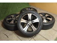 "Genuine Autec 17"" Alloy wheels 5x120 VW T5 Transporter Van Bus T5.1 Alloys Volkswagen"