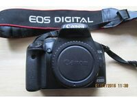 Canon EOS 450D DSLR Camera. Body Only.