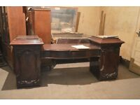 Huge antique desk