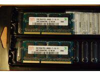 2 x 2G RAM