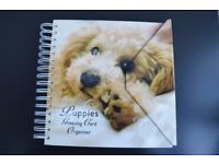Lovely Book of Greeting Cards featuring Puppies - Card Storage for Birthdays etc