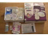 As New - Philips Avent natural single electric breast pump