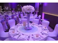 *** WEDDING & VENUE DECORATION – CENTREPIECE HIRE Tel:02084234330 or 07904938852 ***