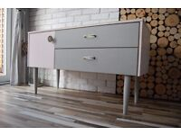 SIDEBOARD ,DRAWERS , SHABBY CHIC, VINTAGE,RETRO,solid wood free delivery