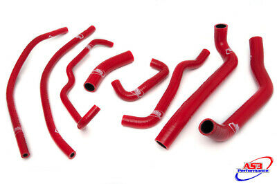 AS3 PERFORMANCE SILICONE RADIATOR HOSES RED TO FIT TRIUMPH 675 DAYTONA