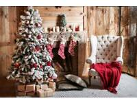 Christmas Photography background backdrop 5x7FT