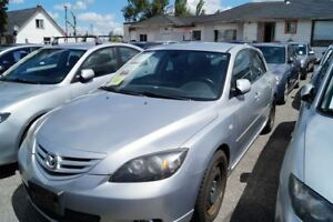 2005 Mazda MAZDA3 SPORT AUTO!LOADED!HATCHFULLY CERTIFIED@NO EXTR