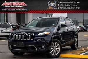 2016 Jeep Cherokee Limited|4x4|SafetyTec,Tech,Luxury,Tow Pkgs|Na