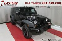2013 Jeep WRANGLER UNLIMITED SAHARA 3.6L 4X4 NAV UCONNECT A/C CR