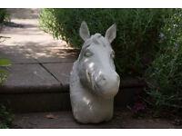 A terrific horses head