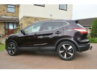 NISSAN QASHQAI DCI N-TEC PLUS 2015. One owner from new FSH