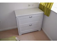 IKEA chest of drawers white (used)