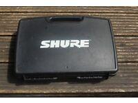 SHURE HEAD WIRELESS MICROPHONE