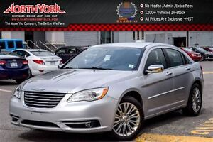 2012 Chrysler 200 Limited|Sunroof|Nav|Leather|HtdFrSeats|Bluetoo