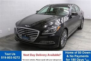 2016 Hyundai Genesis PREMIUM AWD w/ NAVIGATION! LEATHER! PANORAM