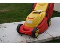Wolf electric lawn mower 240 v mains powered Brand New 12in witdh