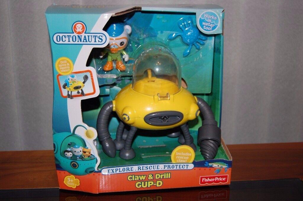 Octonauts Gup D Claw & Drill