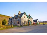 GENERAL ASSISTANT COUPLE FOR HOTEL WORK - LIVE IN - FREE ACCOMMODATION -START NOW - RURAL HIGHLANDS