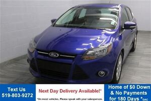 2014 Ford Focus TITANIUM HATCHBACK w/ LEATHER! SUNROOF! REVERSE