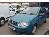 FIAT PUNTO 3DR 1.2 ACTIVE IN GOOD CONDITION WITH MOT UNTILL SEPTEMBER 2017