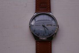 Raketa Model 2000 manual wind mechanical Calendar wristwatch- New Old stock - '00 -Russian
