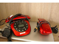 iDECT Carrera Combo Digital Cordless and Corded Answerphone