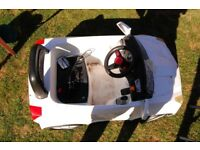 Kids electric car, Chad Valley 6V Sports Car - White
