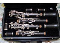Yamaha CSGIII Pair of Clarinets
