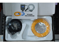 RF 550 Macro LED Ring Flash Complete unit For all SLR with hot shoe old or Digital. As new boxed.