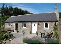 1 bedroom cottage - weekly lets - near Alford Aberdeenshire - discounts for longer stays