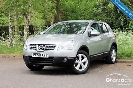 2008 Nissan Qashqai 1.6 Acenta 2WD £4895