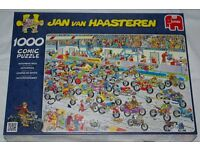 Puzzle 1000 piece unopened brand new in wrapping motorbike theme