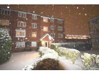 spacious one bed purpose built flat, situated on a private development next to west ham station
