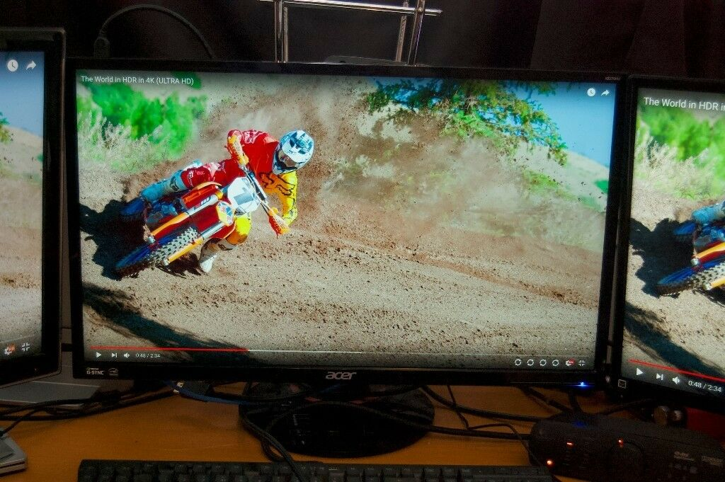 27in Acer XB270HU 1440p, 144Hz, G-SYNC, refresh rate