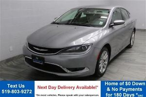 2015 Chrysler 200 LIMITED 3.6L V6 w/ HEATED SEATS! ALLOYS! TOUCH