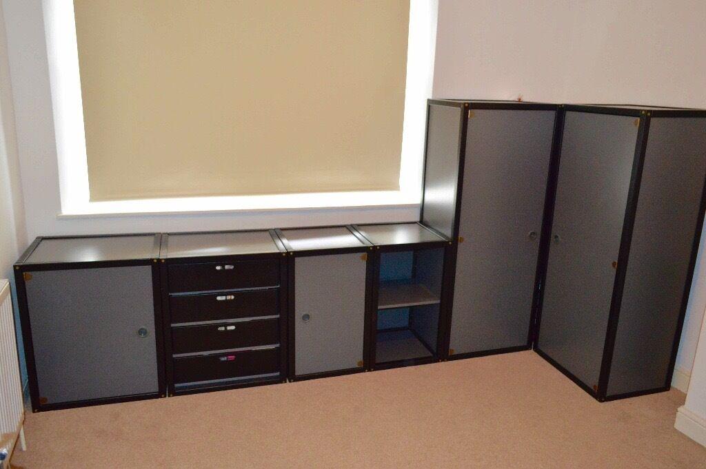 Flötotto Profilsystem designer german flötotto profilsystem storage units cupboards