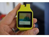 sony smartwatch 3 with 2 wrist straps