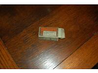 Vintage Wills empty cigarette packet & De Witts pill box diuretic stimulant