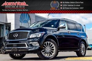 2017 Infiniti QX80 Limited|4x4|Driver Asst.|Sunroof|RearDVDs|BOS